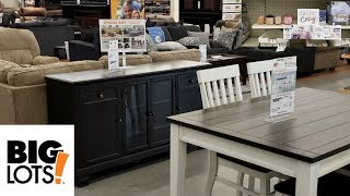 BIG LOTS SHOP WITH ME! NEW FURNITURE BEAUTY HOME IDEAS 2018