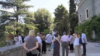 preview picture of video 'Gita al Castello Orsini Cesi e Villa D'Este, con le Chiavi d'Oro di Roma.m4v'