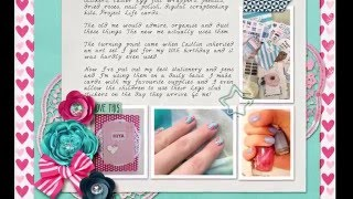 Digital Scrapbooking Process Videos In Photoshop Elements Collections