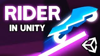 How to make RIDER in Unity (Livestream)