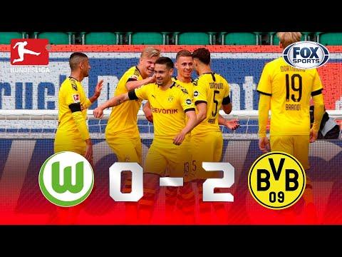 PRESSÃO NO BAYERN! Melhores momentos de Wolfsburg 0 x 2 Borussia Dortmund pela Bundesliga