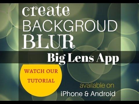 Big Lens iPhone Photography App – Tutorial