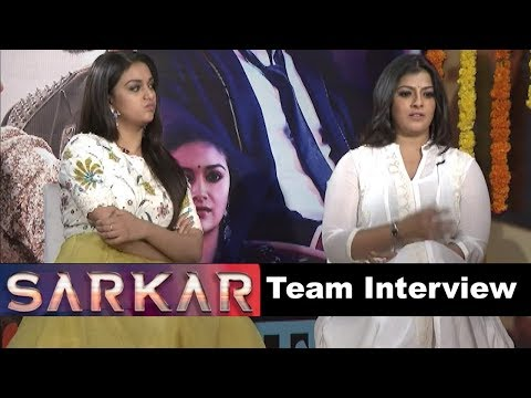 Varalaxmi and Keerthy Suresh Interview About The Movie Sarkar