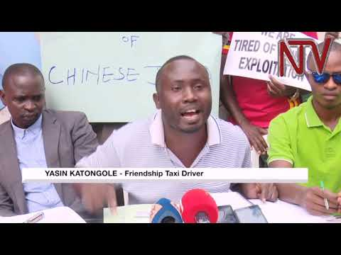 Friendship Taxi operators protest over layoffs.