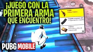 ¡¡CHALLENGE de PRIMERA ARMA en PUBG MOBILE!! - MattsinLife