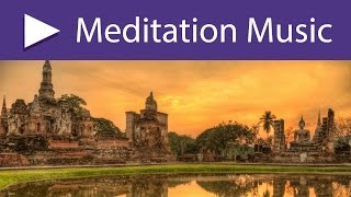 Meditation Temple: 8 HOURS Background Healing Buddhist Meditation Music for Heart and Soul