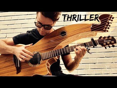 , title : 'Thriller - Michael Jackson - Harp Guitar Cover - Jamie Dupuis'
