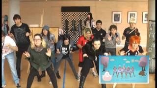 MoTsuKora XVII - Flashmob Chick Chick  -Wang Rong Rollin-