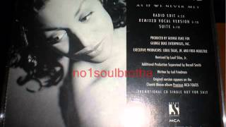 "Chanté Moore ""As If We Never Met"" (Remixed Vocal Version)"