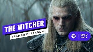Netflix's The Witcher Trailer Breakdown - Comic Con 2019