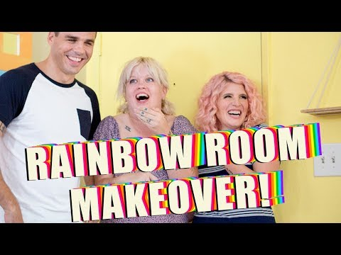 Rainbow Room Makeover! | Mr. Kate  HD Mp4 3GP Video and MP3