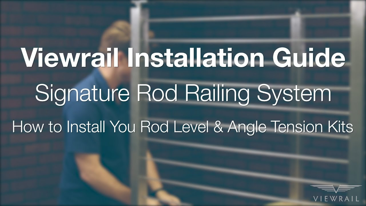 Rod Level and Angle Installation