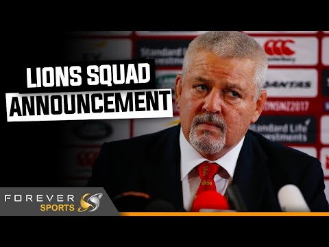BRITISH & IRISH LIONS SQUAD ANNOUNCEMENT LIVE SHOW! | Forever Rugby