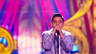 Davit (Last Song) || Loren Allred   Never Enough || The Voice Kids 2019 (Germany)