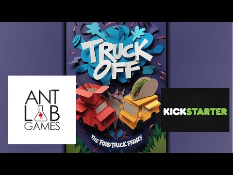 Truck Off: The Food Truck Frenzy Kickstarter Playthrough Preview
