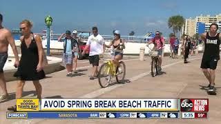 How to avoid Spring Break beach traffic