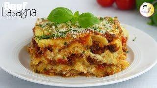 ইটালিয়ান লাজানিয়া রেসিপি | Italian Lasagna recipe | Italian Pasta White sauce Bolognese