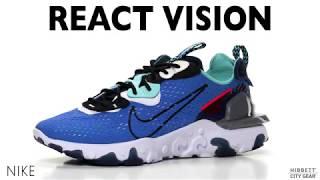 Nike React Vision Photo Blue/Black-Midnight/Navy Mens Shoe