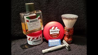 A Proraso Red Shave