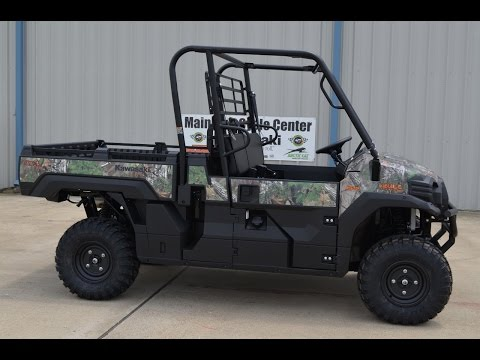2016 Kawasaki Mule Pro-FX EPS Camo in La Marque, Texas