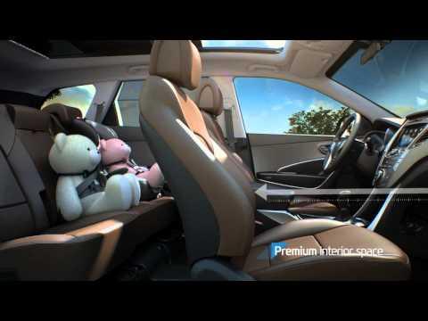 Hyundai  Grand Santa Fe  Паркетник класса J - рекламное видео 1