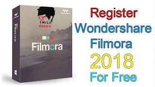 how to get free registration code for wondershare filmora