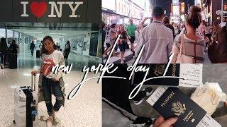 NEW YORK VLOG DAY 1: NYC Sightseeing! || FarinaVlogs