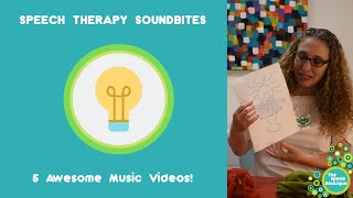 Ep. #14. Five Awesome Music Videos For Speech Therapy
