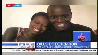 A man unable to get the body of his wife due to high hospital bills at the Nairobi Hospital