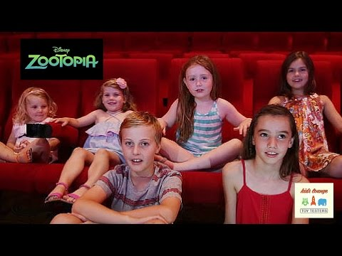 Zootopia movie review by the Toy Testers Kids