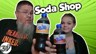 Pepsi Cola Soda Shop Flavors Black Cherry & Cream Soda || Taste Test Tuesday