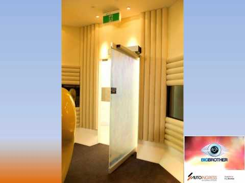 Big Brother Australia 2012 automatic doors supplied by Auto