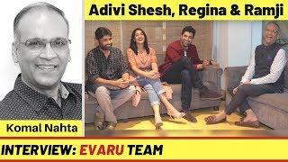 Telugu filmon ke handsome hunk Adivi Sesh aur unki hit 'Evaru' team se mulaqat