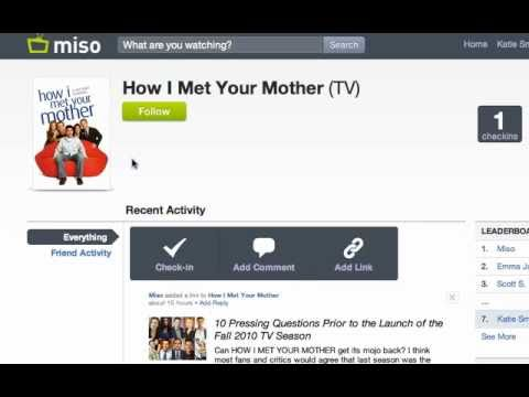 Miso Is A Social Network For TV Fans