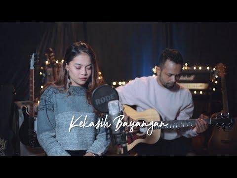 KEKASIH BAYANGAN - CAKRA KHAN ( Ipank Yuniar ft. Ingtise Cover & Lirik )