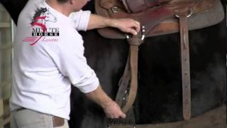 Western Cinch:  Tying the Texas T Latigo Knot