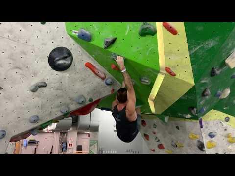 First Ascent: Uptown- V4 - Green