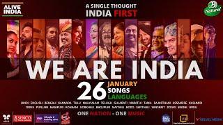 WE ARE INDIA - Alive India | Multilingual original | Republic