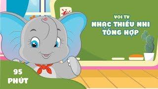 Nhạc Thiếu Nhi Mầm Non Hay 2019 - Voi TV | Bé Học Bảng Chữ Cái, Học Các Con Vật, Học Màu Sắc