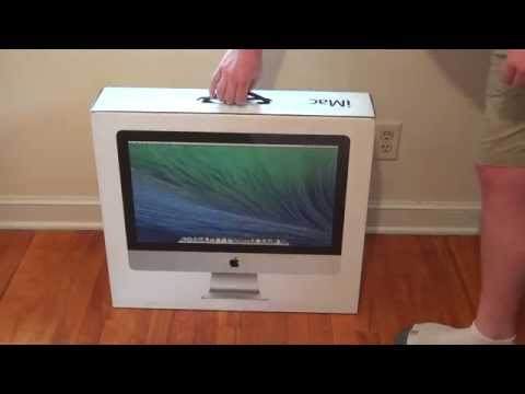 Apple iMac 1.4GHz Intel i5 Mid 2014 (Unboxing)
