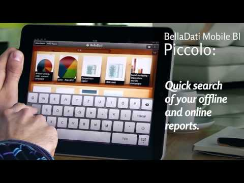 Video of BellaDati Mobile BI