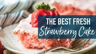 how do you make strawberry icing from scratch