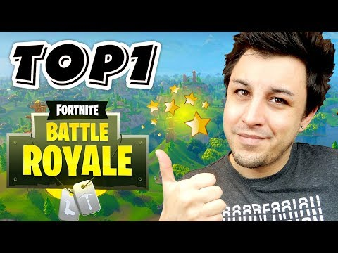Top 1 sur Fortnite !