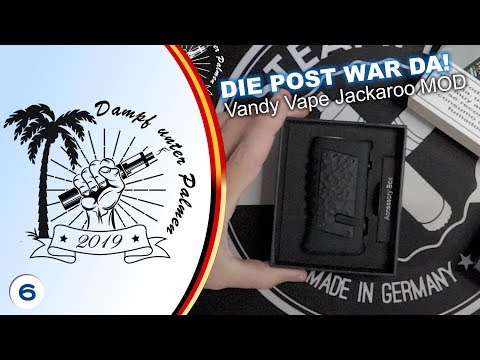 YouTube Video zu Vandy Vape Jackaroo Akkuträger 100 Watt