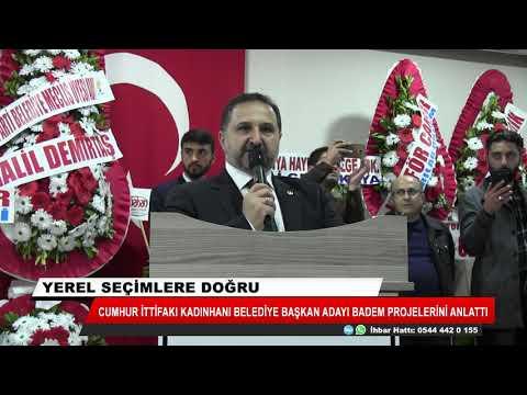 Mehmet Badem projelerini anlattı