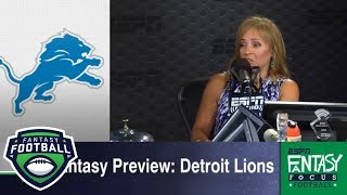 Detroit Lions 2018 fantasy football preview | Fantasy Focus | ESPN - Video Youtube