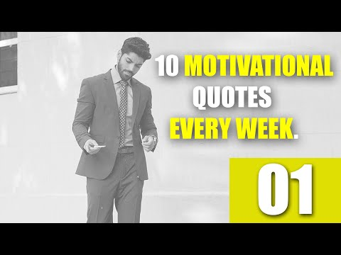 10 Motivational Quotes || Every Week Motivation || 01 || Trending Tapes.