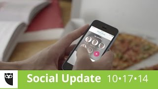 Social Update #2 | Snappening, Pay by Tweet, McDonald's get real