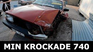 PLOCKAR I SÄTENA FRÅN MIN KROCKADE VOLVO 740 TILL TURBOBILEN!