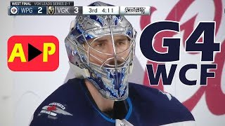Winnipeg Jets vs Vegas Golden Knights – May. 18, 2018 | Game 4 | Stanley Cup 2018 | (HD)